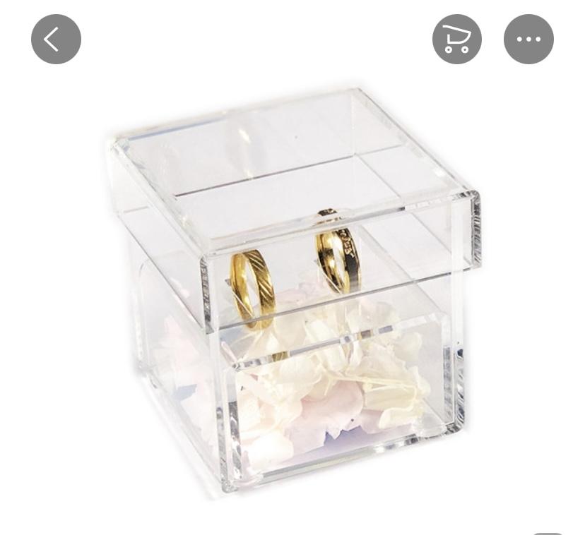 krabička na prstienky - Obrázok č. 2