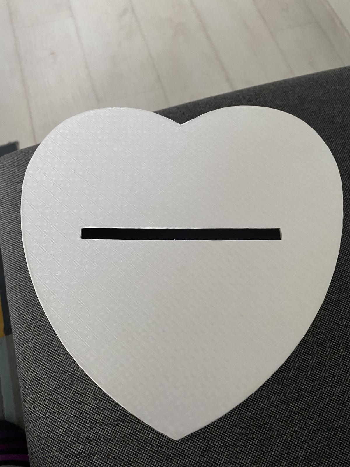 krabička v tvare srdca - Obrázok č. 1