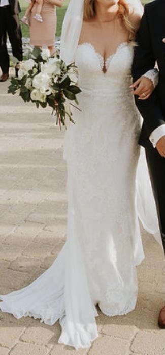 svadobné šaty zn. Pronovias - Obrázok č. 2