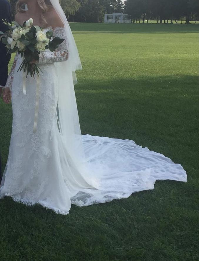 svadobné šaty zn. Pronovias - Obrázok č. 1