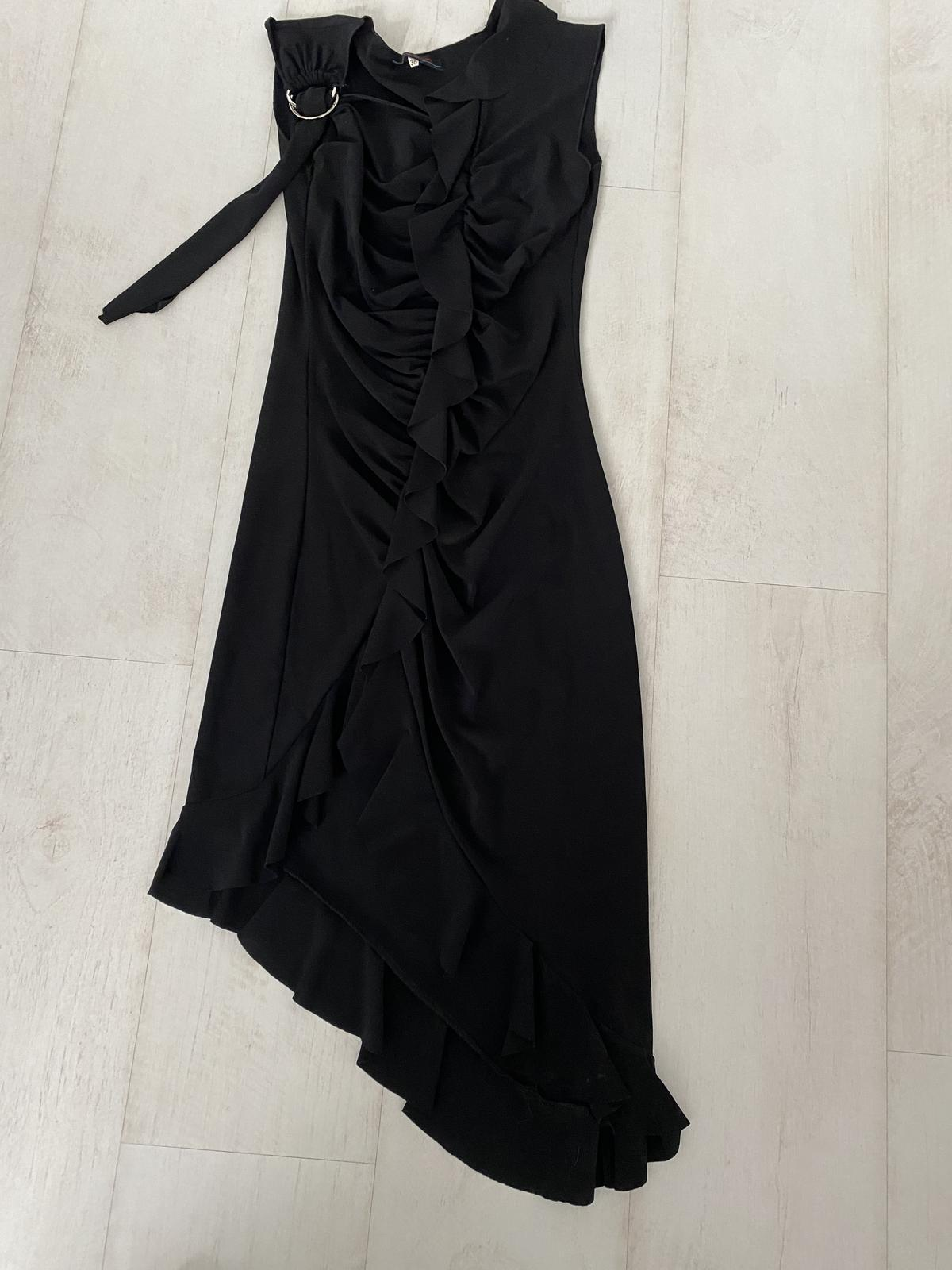 dámske spoločenské šaty čierne - Obrázok č. 1