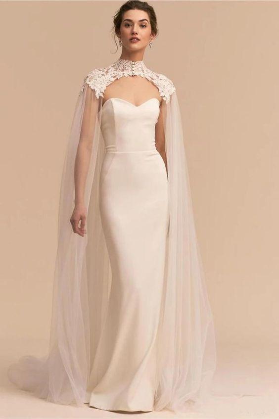 Svatební bolerka, pláštěnky, bundy a jiné přikrývky - Obrázek č. 12