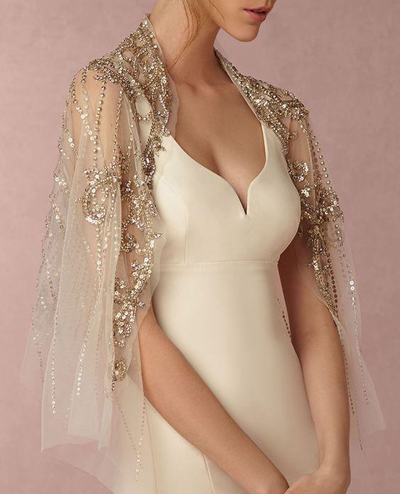 Svatební bolerka, pláštěnky, bundy a jiné přikrývky - Obrázek č. 25