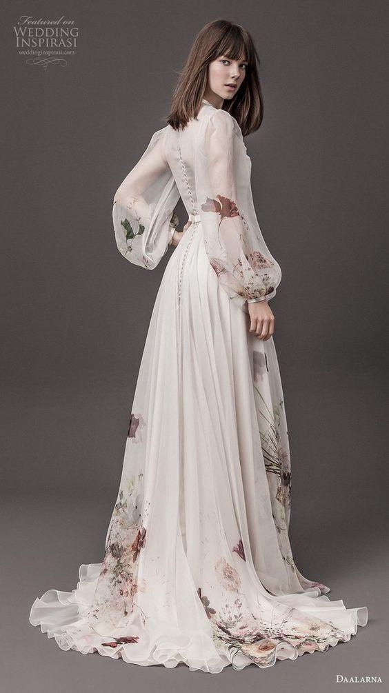 Barevné svatební šaty - Obrázek č. 6