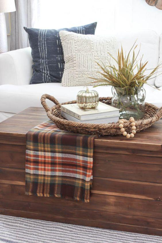 Podzimní dekorace v obývacím pokoji - Obrázek č. 8