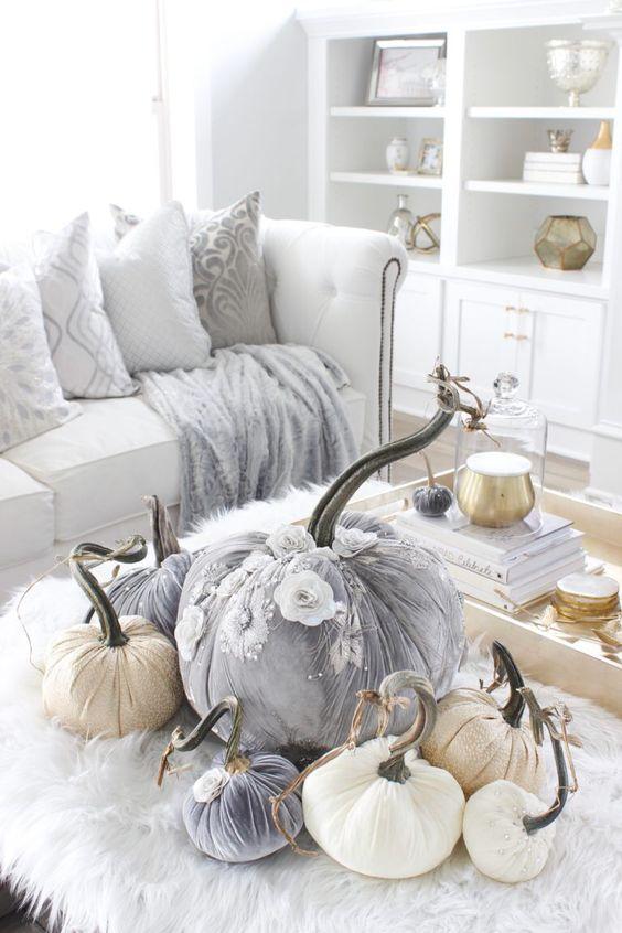 Podzimní dekorace v obývacím pokoji - Obrázek č. 17