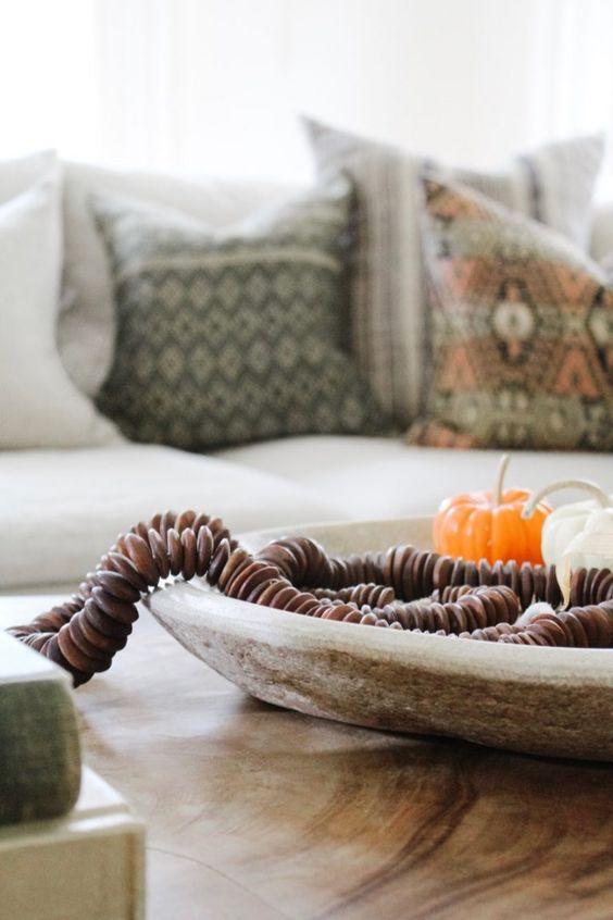 Podzimní dekorace v obývacím pokoji - Obrázek č. 21