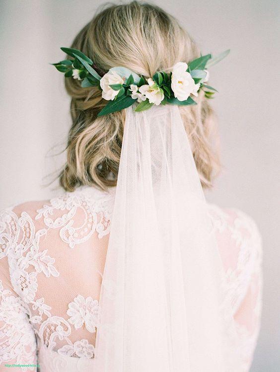 Svatební účes pro krátké vlasy - Obrázek č. 6
