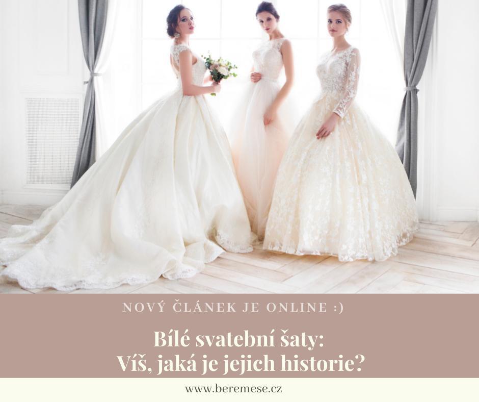 Ačkoliv máme na výběr tisíce (možná miliony) svatebních šatů a několik různých barevných možností, většina dnešních nevěst se stále rozhodne pro osvědčenou klasiku.👰 Divíte se, proč to tak je? Bílé svatební šaty mají překvapivou historii. A my vám prozradíme jakou: https://bit.ly/bile-svatebni-saty-historie :) - Obrázek č. 1