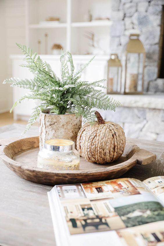 Podzimní dekorace v obývacím pokoji - Obrázek č. 37
