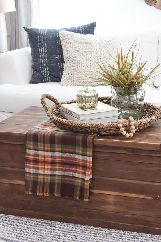 Podzimní dekorace v obývacím pokoji - Obrázek č. 42