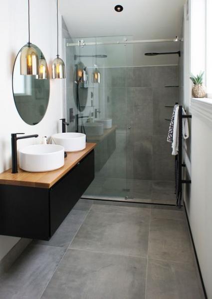 Inspirace: Dvojité umyvadlo v koupelně - Obrázek č. 11