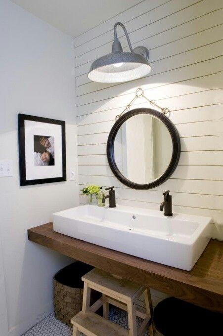 Inspirace: Dvojité umyvadlo v koupelně - Obrázek č. 8