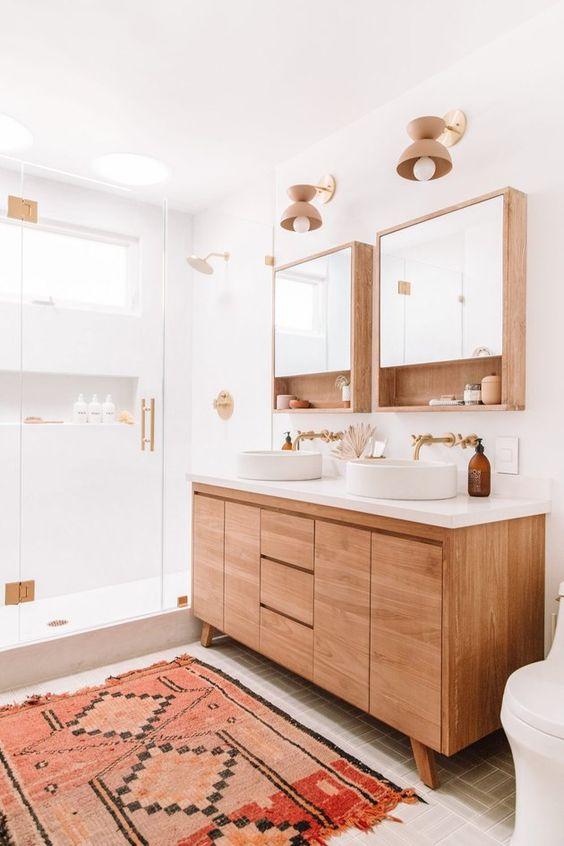 Inspirace: Dvojité umyvadlo v koupelně - Obrázek č. 2