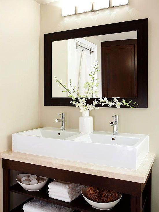 Inspirace: Dvojité umyvadlo v koupelně - Obrázek č. 13