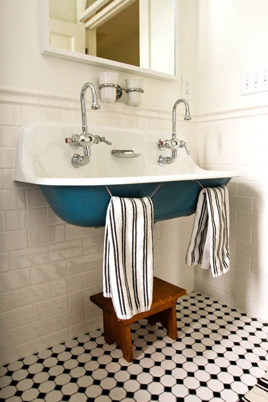 Inspirace: Dvojité umyvadlo v koupelně - Obrázek č. 15