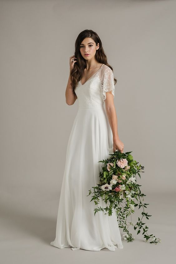 Svatební šaty s rukávy - Obrázek č. 11