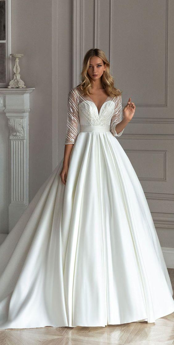 Svatební šaty s rukávy - Obrázek č. 18