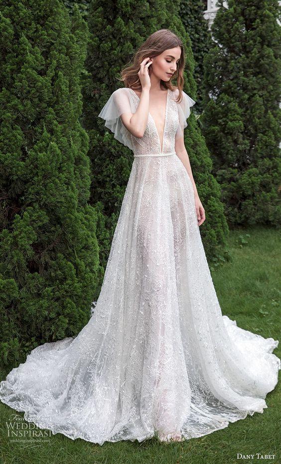 Svatební šaty s rukávy - Obrázek č. 20