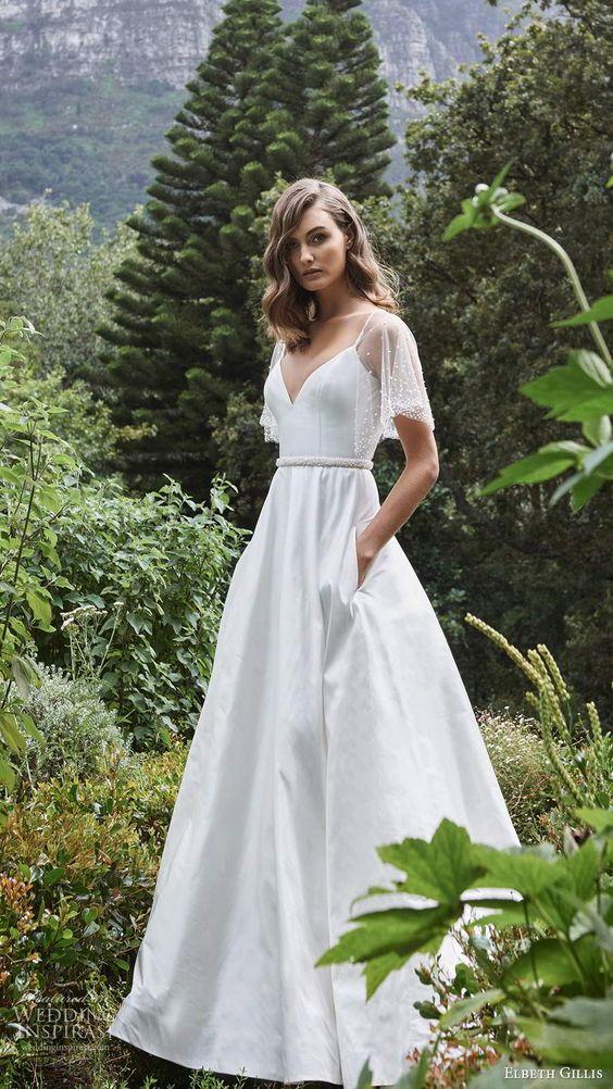 Svatební šaty s rukávy - Obrázek č. 25
