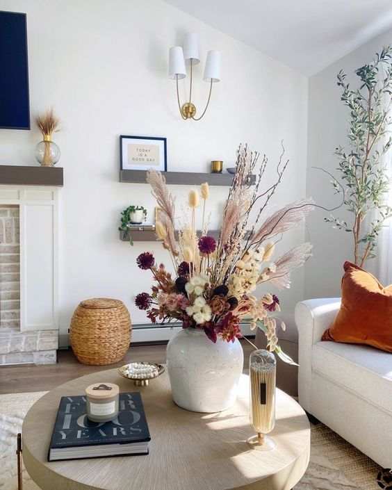 Podzimní dekorace v obývacím pokoji - Obrázek č. 60
