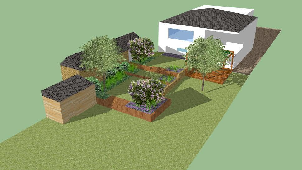Názov stavby 3 - in da garden - Obrázok č. 5