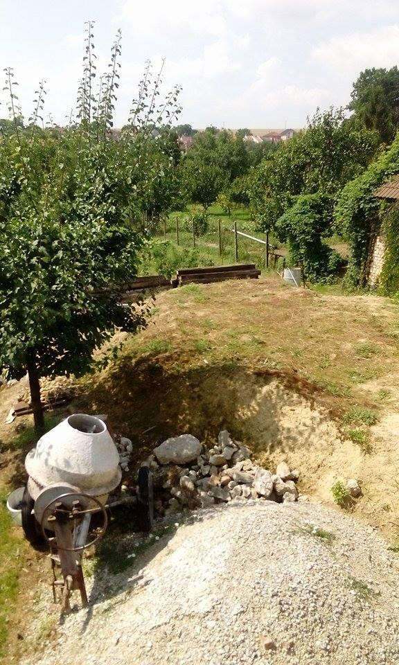 Názov stavby 3 - in da garden - výhľad z terasy