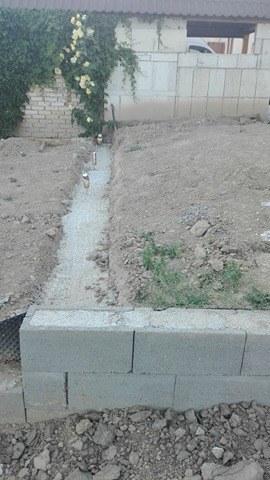 Názov stavby 3 - in da garden - základy pod podvaly