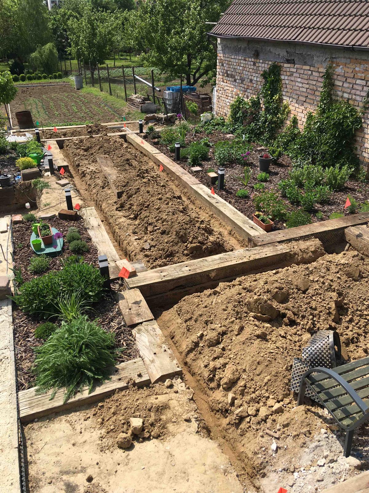 Názov stavby 3 - in da garden - závlahy vykopané