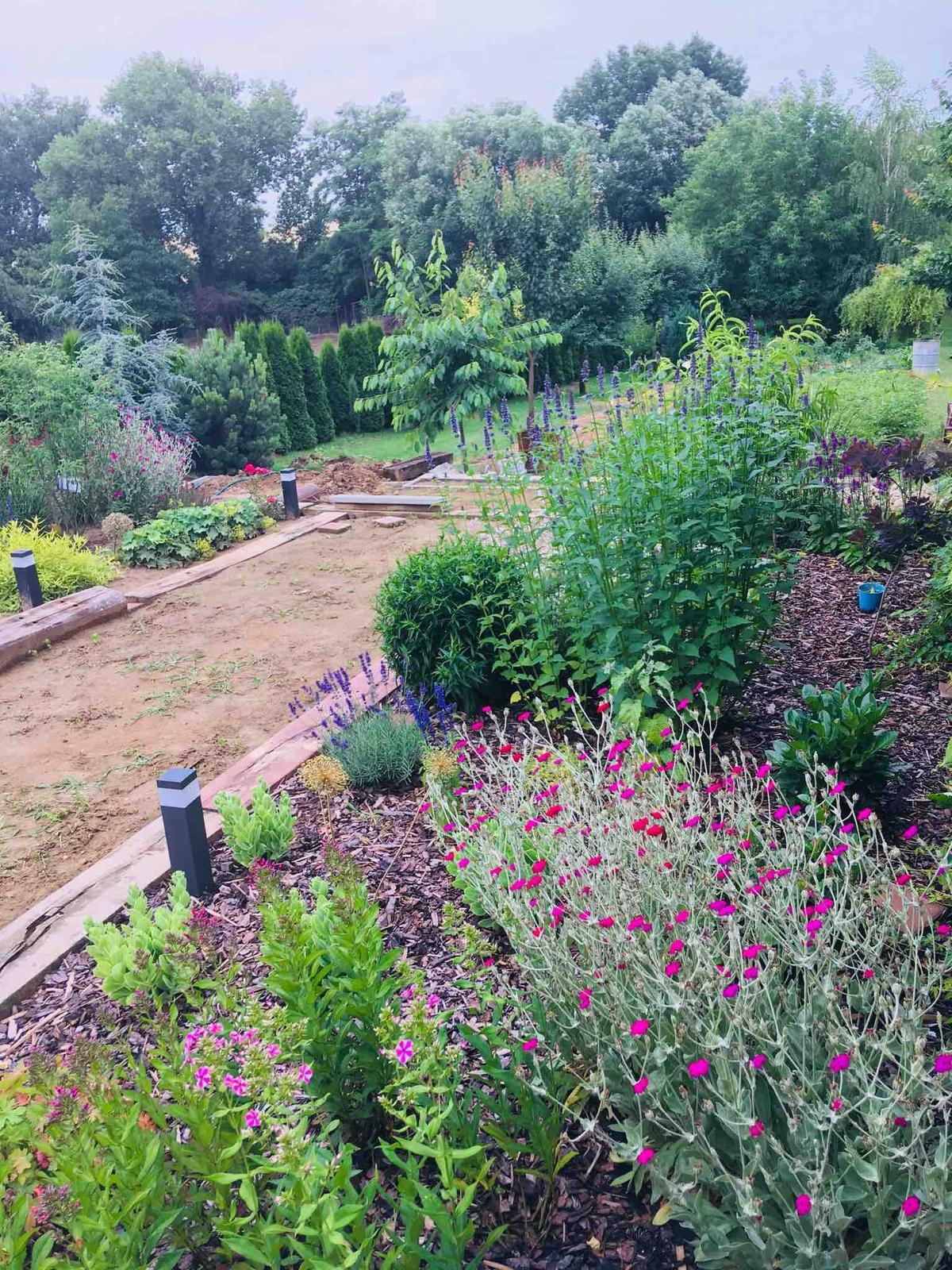 Názov stavby 3 - in da garden - po daždi
