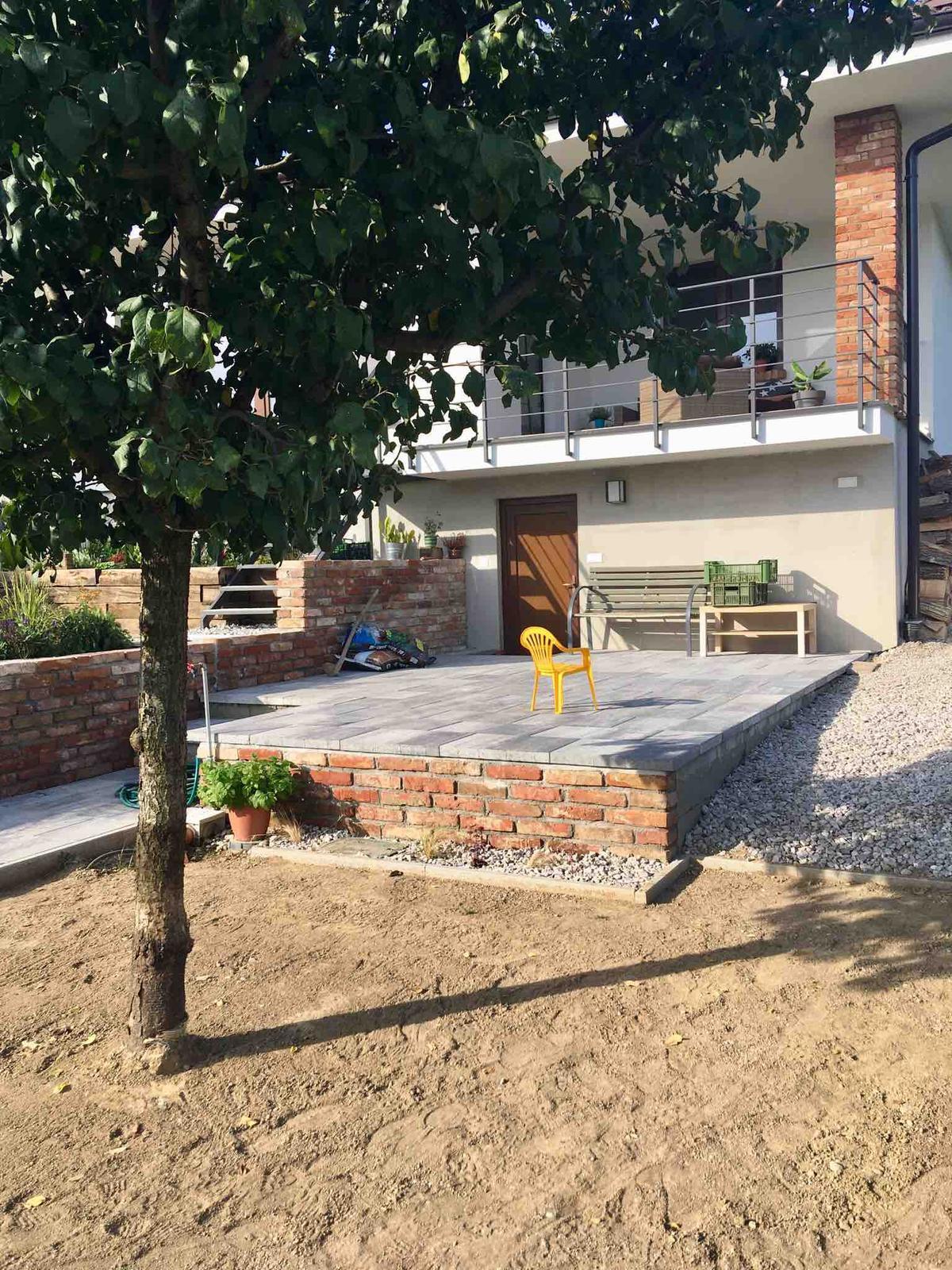 Názov stavby 3 - in da garden - Vyrovnávanie podkladu
