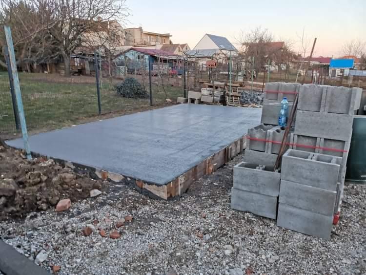 Názov stavby- Stodola - Vo februári nám prialo pocasie