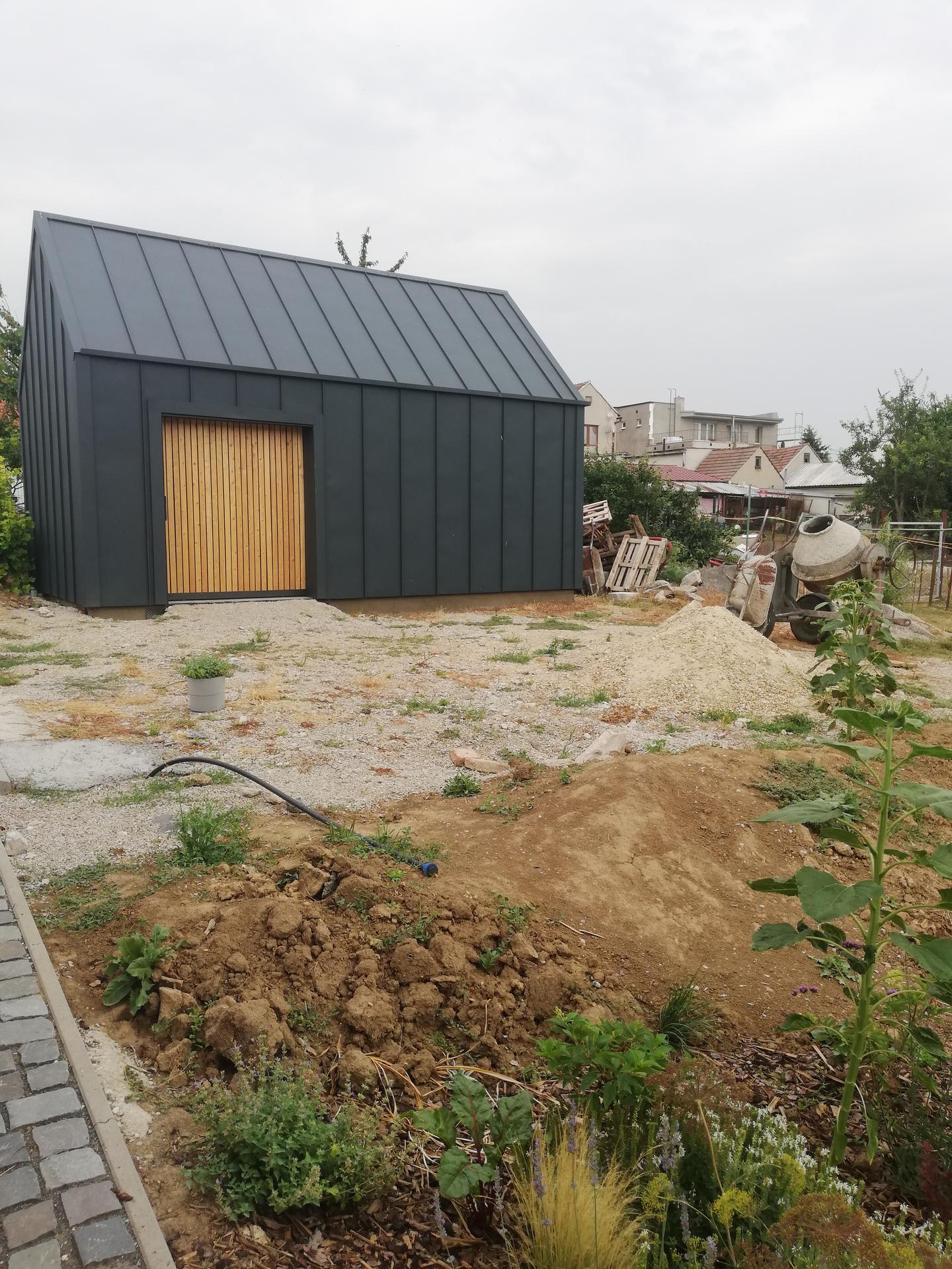 Názov stavby- Stodola - Real stav