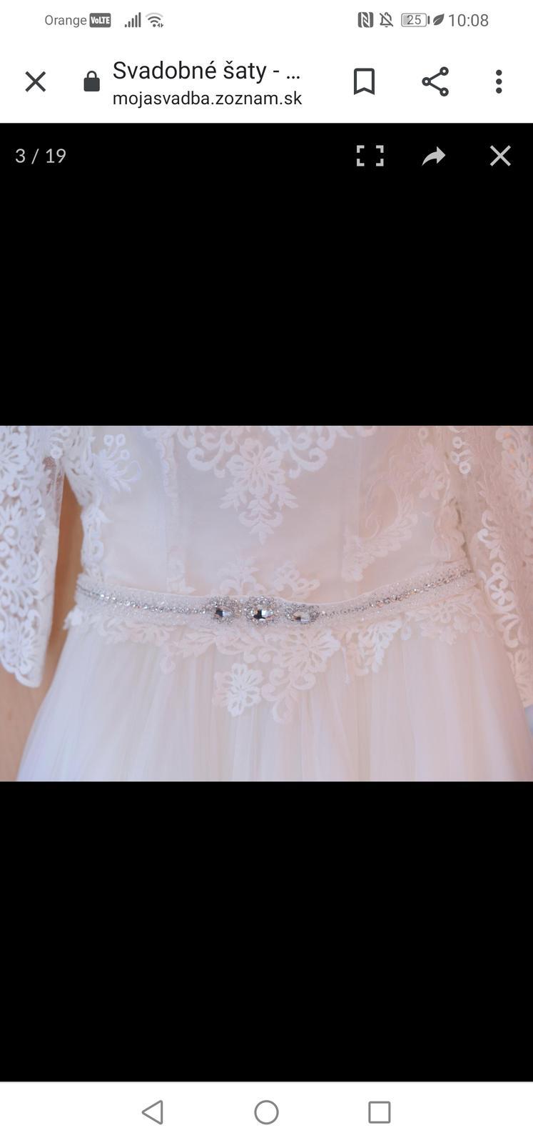 Svadobné šaty irian sam - Obrázok č. 4
