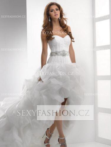 Svatební šaty XS - Obrázek č. 1