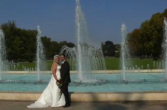 Všichni říkali, že to vypadá, jako bychom měli svatbu ve Versailles