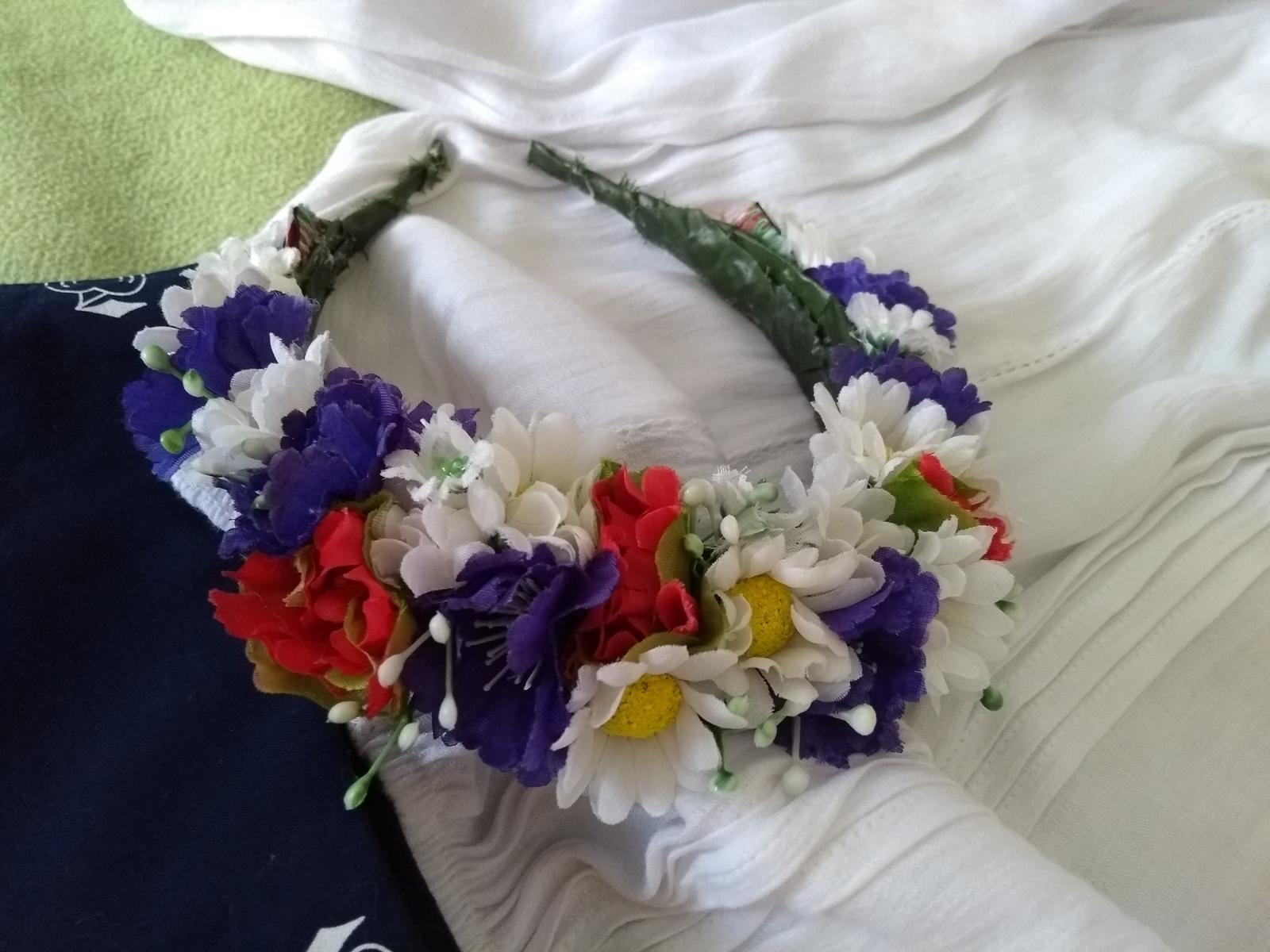 Parta/kvetinova celenka - Obrázok č. 1