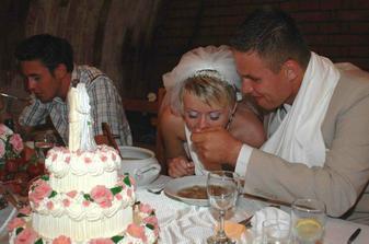 s dortíkem ...