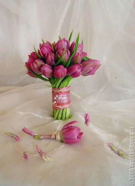 Svadobna kytica z tulipánov - Obrázok č. 18