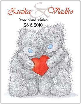 Blížiace sa prípravy 28.8.2010 - Etiketa na vínko