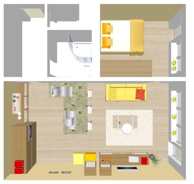 Jednoizbovy byt - Obrázok č. 2