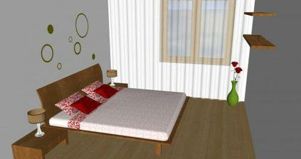 Rodičovská spálňa B