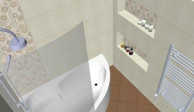 Paneláková kúpeľňa