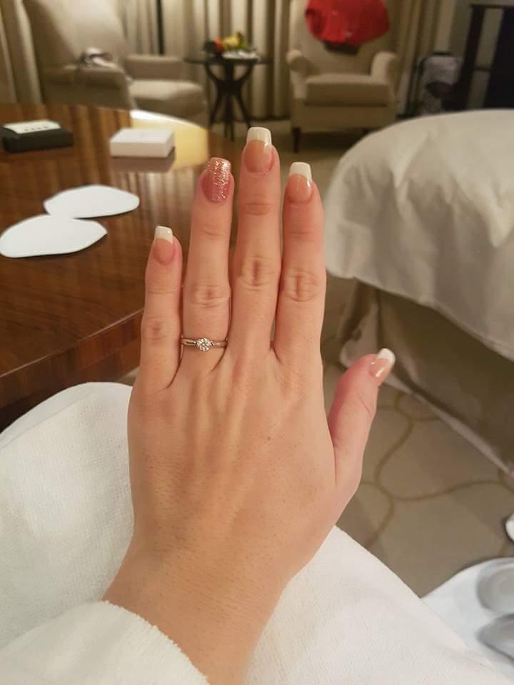 Nas najkrajsi den - 1.9.2017 - Diamantik na prste :)