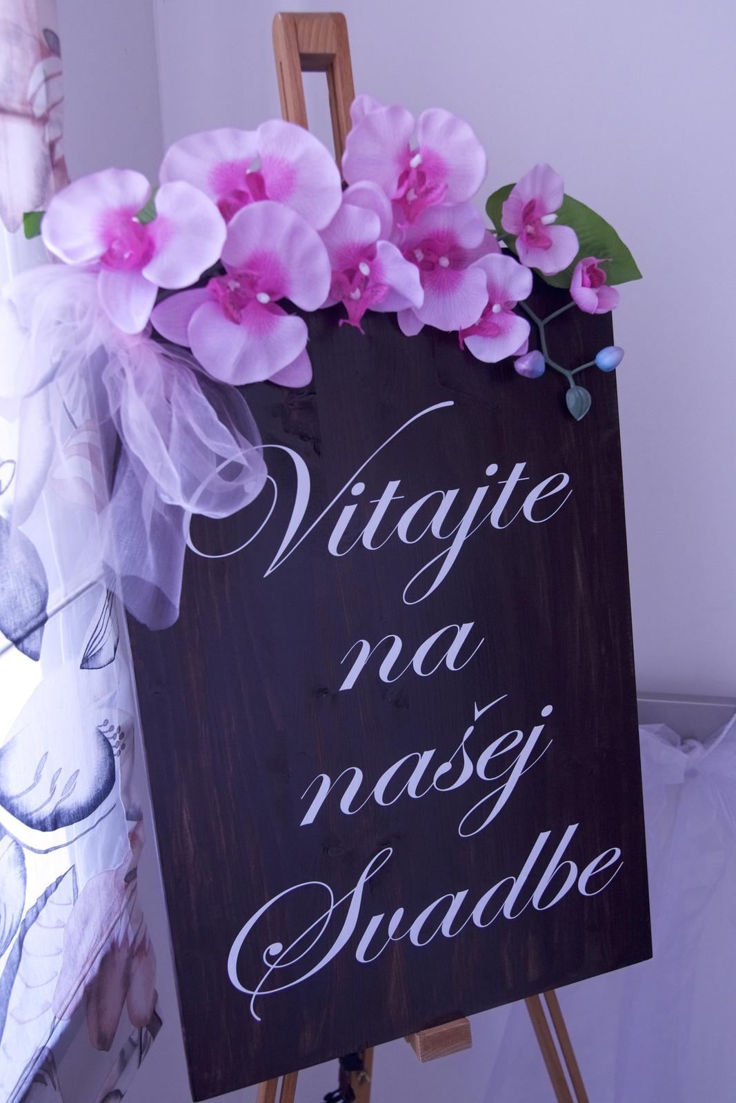 Welcome napis s kvetmi - Obrázok č. 2