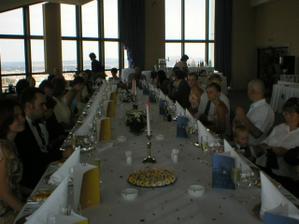 Nádherná svatební tabule