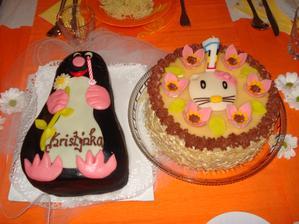 Dostala jsem dokonce 2 dortíčky, heč !!!