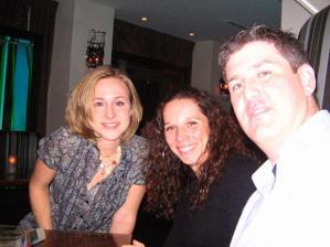 Danielle, Zuzka, Dave