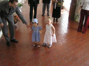 naši nejmladší svatebčani