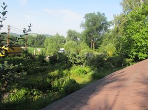 brzo ráno přijela po 5ti týdnech  druhá parta na vrt :-)